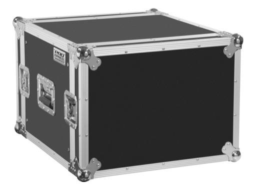 """GDE • Flight case Tradition 19""""- 6U capot avant /arriere, profondeur 460mm"""