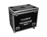 PROLIGHTS • Flight case pour 2 lyres PANORAMAIPWBX-eclairage-spectacle