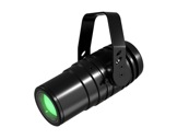 Projecteur FOCUS SOLO ZOOM LED Full RGBW 3,5-52 ° IP65 noir • DTS-projecteurs-en-saillie
