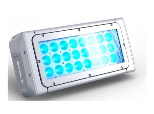 DTS • Projecteur BRICK ARC Full RGBW 24 x 20 W IP65 8 ° (sans alim) blanc
