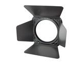 DTS • Volet 4 faces noir + porte filtre pour série TITAN HP-eclairage-spectacle