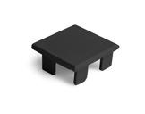 ESL • Embout plein noir pour profilé gamme LIPOD-accessoires-de-profiles-led-strip