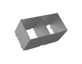 CLS • Cône anti halo gris pour gamme REVO XL-eclairage-archi--museo-