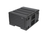 "SKB • Rolling Roto Rack 19"" - 6U - profondeur de rail à rail 450 mm + trolley-racks-19-abs"