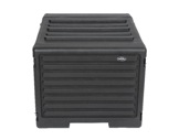 "SKB • Rolling Roto Rack 19"" - 8U - profondeur de rail à rail 450 mm + trolley-flight-cases"