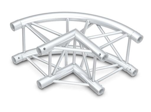 Structure quatro angle 90° courbe - M290 QUICKTRUSS
