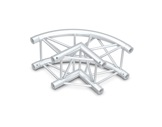 Structure quatro angle 90° courbe - M290 QUICKTRUSS-structure-machinerie