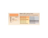 LEE FILTERS ZIRCON • Pack WARM LED 12 gélatines 300 x 300mm-consommables