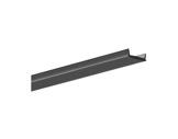 ESL • Diffuseur opaline noir 2.00m sauf gamme EX ALU, HR ALU-profiles-et-diffuseurs-led-strip