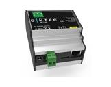 ENTTEC • Boitier DIN-ODE POE MK2 format rail DIN-ethernet--art-net--dmx