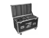 PROLIGHTS TRIBE • Flightcase pour 4 JETSPOT4Z-eclairage-spectacle