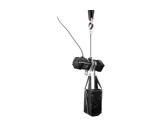 DONATI • Palan Noir inversé complet 4m/min-250 kg-12m de chaîne -palans