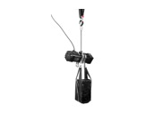 DONATI • Palan Noir inversé complet 4m/min-1000 kg-15m de chaîne -palans