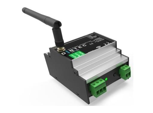 Émetteur DMX sans fil CRMX format rail DIN DINTEC • ENTTEC