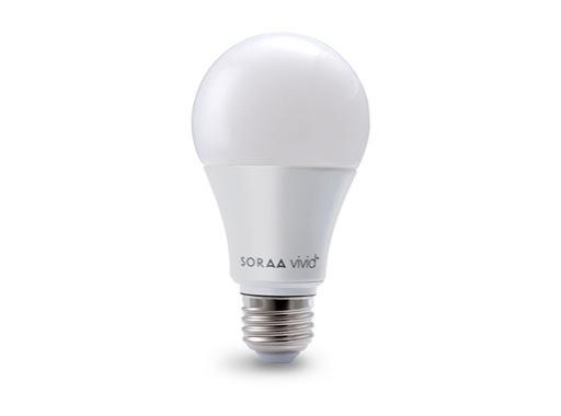 Lampe LED A60 Omnidirectionnel Vivid 11W 230V E27 2700K 800lm IRC95 • SORAA