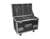 PROLIGHTS • Flight case pour 4 projecteurs RUBYFCX-accessoires