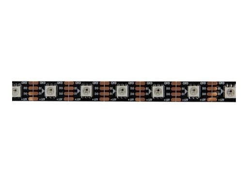 DENEB • LED STRIP 300 LEDs matricées RGB 12 V 75 W 5 m IP20 fond noir