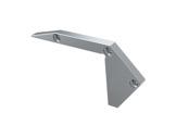 ESL • Embout de nez de marche pour LED694 gauche plein-accessoires-de-profiles-led-strip