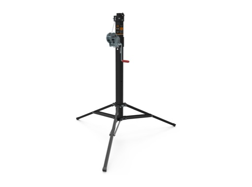 VMB • Pied noir TP-20 à treuil H 3,00m Charge 100Kg ø35mm