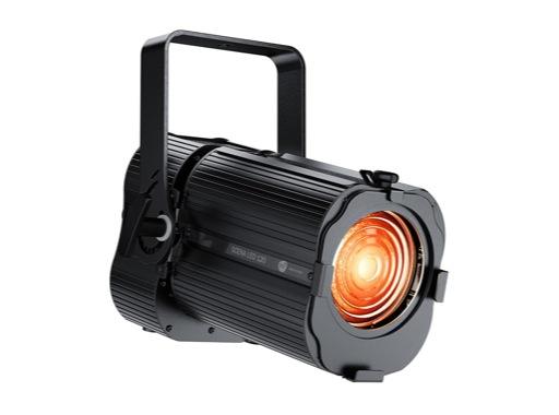 DTS • Projecteur Fresnel SCENA LED 120 HQS Full RGBA 120 W zoom 20 / 74 °