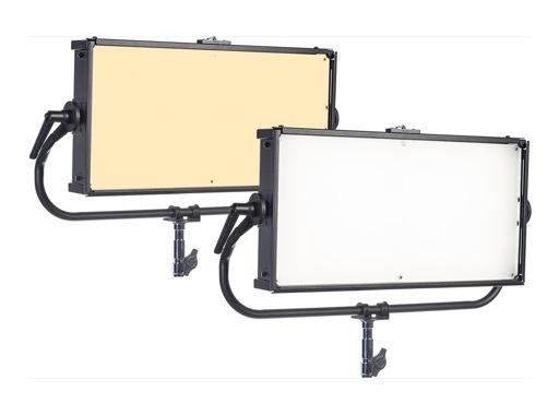 CHROMA-Q • Panel LED SPACE FORCE ONEBYTWO blanc variable finition noire avec DMX
