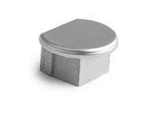 ESL • Embout plein teinte métal pour profilé gamme PDS-O-accessoires-de-profiles-led-strip