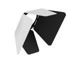 CLS • JADE ZOOM Volets rotatifs blancs (int.noir)-alimentations-et-accessoires