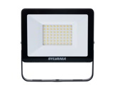 Projecteur noir Flood Light Slim Led 50W blanc chaud 4500lm IP65-projecteurs-en-saillie