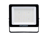 Projecteur noir Flood Light Slim Led 100W blanc chaud 9000lm IP65-projecteurs-en-saillie