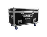 PROLIGHTS • Flight case pour 6 projecteurs ECLIPSEPAR-accessoires