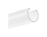 ESL • Diffuseur opaline oval 1 m pour profilés gamme JAZZ-profiles-et-diffuseurs-led-strip