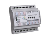 ARTISTIC LICENCE • Convertisseur DMXtoDALI quad DMX vers 4 circuits DALI rail DI-dali