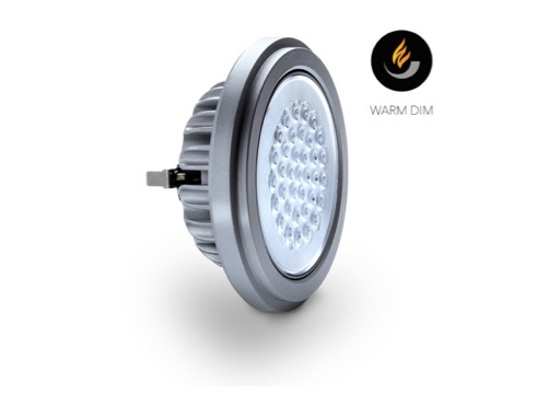 Lampe LED SORAA AR111 Vivid Warm Dim 19W 12V G53 1800K -2700K 25° 1000lm IRC95