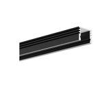 ESL • Profil alu anodisé noir PDS4 pour Led 1.00m-profiles-et-diffuseurs-led-strip