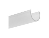 DIFFUSEUR • Diffuseur satiné ovale 2 m pour profilés gamme DOUBLE-profiles-et-diffuseurs-led-strip