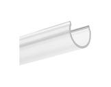 DIFFUSEUR • Diffuseur transparent ovale 3 m pour profilés gamme DOUBLE-profiles-et-diffuseurs-led-strip