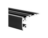 ESL • Nez de marche alu anodisé noir pour Led 2.00m-profiles-et-diffuseurs-led-strip