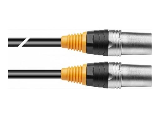 Câble Ethernet noir RJ45 - RJ45 cat.6 S/FTP avec connecteurs RJ45 Seetronic 50m