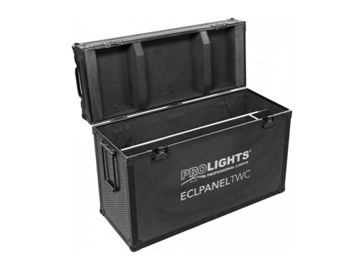 PROLIGHTS • Flight case pour 1 panel ECLIPSE PANEL TWC plus accessoires