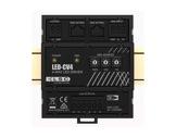 LSC • Contrôleur LED-CV4 tension constante 4 x 5 A rail DIN