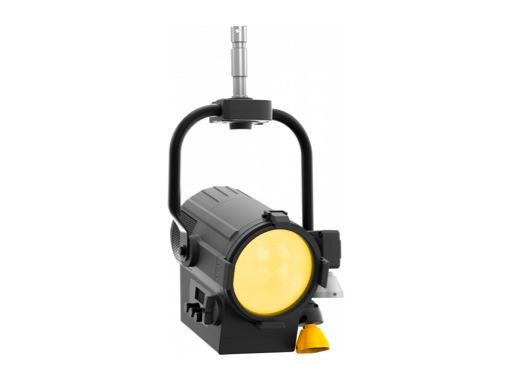 Projecteur Fresnel LED ECLFRESNEL JR TW blanc var & couleurs 130 W par perche