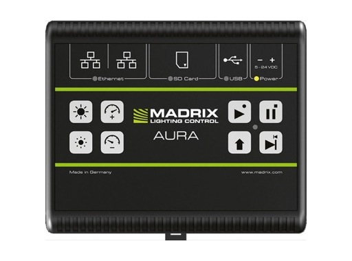 MADRIX • AURA 2 enregistrement & restitution Art-Net / sACN 2 univers DMX