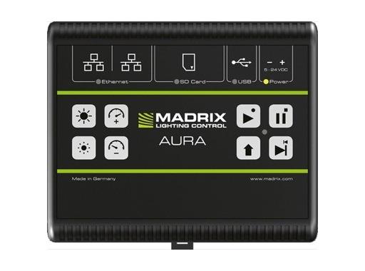 MADRIX • AURA 8 enregistrement & restitution Art-Net / sACN 8 univers DMX