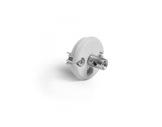 ESL • Embout PVC 1 perçage 6,5mm + tête inox pour profilé DOUBLE JAZ-accessoires-de-profiles-led-strip