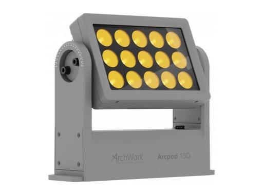 ARCHWORK • Dalle à LEDs ARCPOD15Q 15 x 10 W RGBW IP66