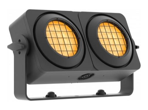 PROLIGHTS • Blinder LED Sunrise 2IP 2 x 83 W blanc chaud + ambre matriçable IP65