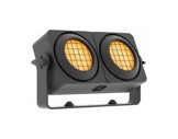 PROLIGHTS • Blinder LED Sunrise 2IP 2 x 83 W blanc chaud + ambre matriçable IP65