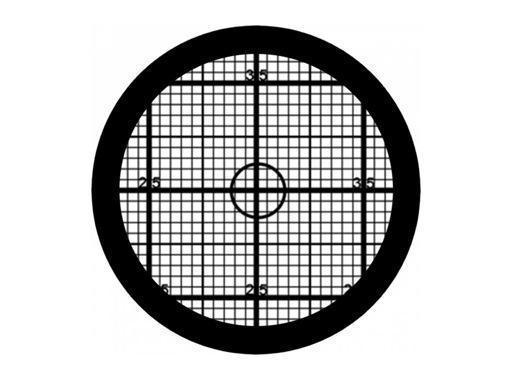 PROLIGHTS • Gobo verre Grille pour projecteur LED Mosaico Jr