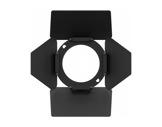 PROLIGHTS • Volet 4 faces + porte filtre pour gamme EclDisplay noir