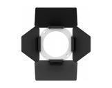 PROLIGHTS • Volet 4 faces + porte filtre pour gamme EclDisplay blanc (int. noir)